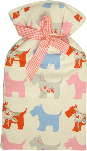 Vagabond 2L Scottie Dog Hot Water Bottle and Cover