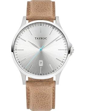 Tayroc Armbanduhr Classic Sand/Silber TXM100