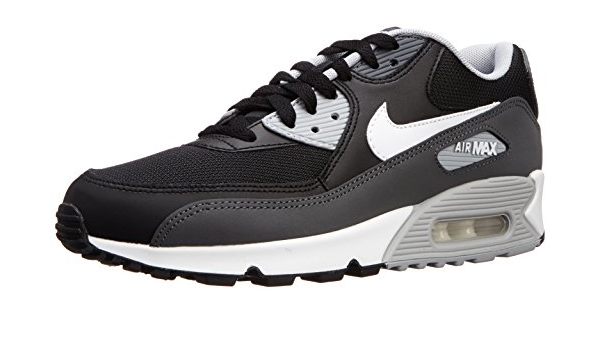 Nike Air Max 90 Essential, Scarpe da Running Uomo, Nero, Bianco ...