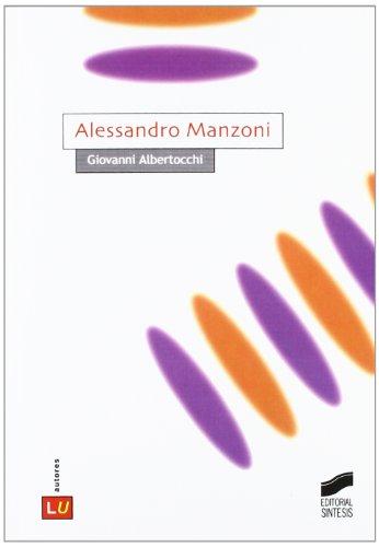 Manzoni, Alessandro (Literatura italiana. Autores)