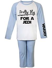 Pretty Fly para un Jedi Star Wars personalizado pijama infantil pijama infantil personalizado regalos Pjs de