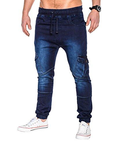 BetterStylz -  Pantaloni sportivi  - Uomo Denim - Cargo M