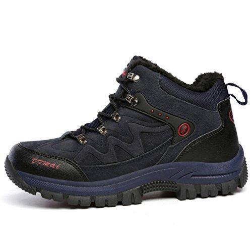XI-GUA ,  Scarponcini da camminata ed escursionismo uomo Blau