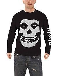 Misfits Jumper Sweater jarek Skull band logo nouveau officiel Homme