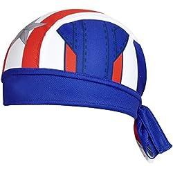 ShopINess - Gorro bandana ciclismo Capitán América