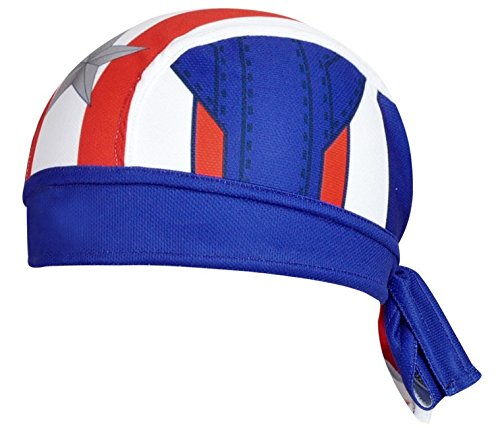 ShopINess - Bandana Cycling Cap Captain America Style