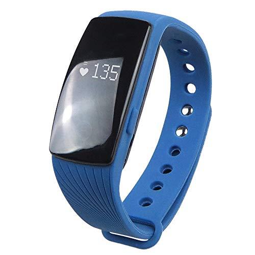 EFFaucet:ID107 Wasserfest Herzschlagmonitor Touchscreen Verbrannte Kalorien Schlaf-Tracker Finden Sie Ihr Gerät/Langes Standby / 64MB / Schrittzähler / 350-400:Orange -
