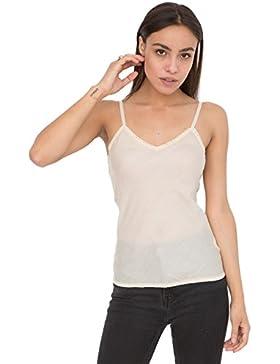 likemary - Camiseta sin mangas - para mujer