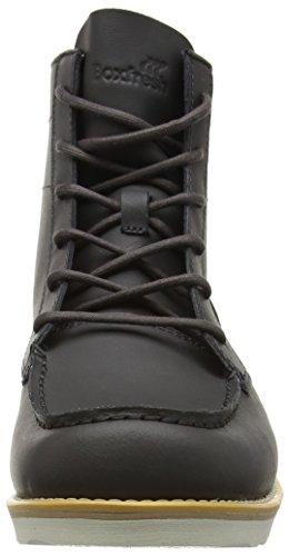 Boxfresh Men Zelos Short Boots Grey (carboncino)