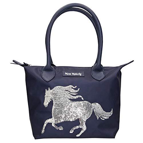 Depesche 10280 - Handtasche Miss Melody, blau