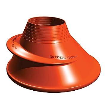 Silikon Halsmanschette Small für Waterproof-Trockentauchanzüge - Kleine Version Farbe Orange