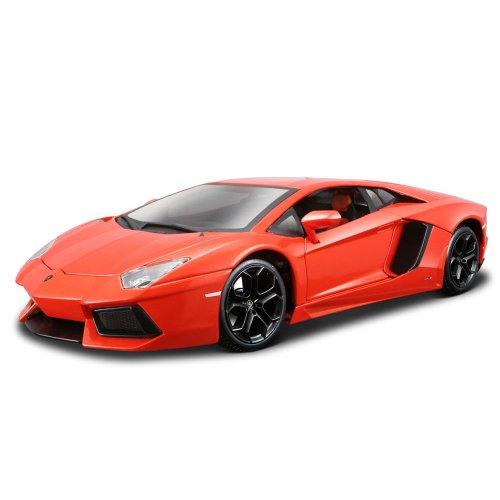 Preisvergleich Produktbild Bburago 15611033X - Lamborghini Aventador LP700-4 rotorange