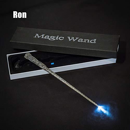 LLC-POWER Wand mit Licht für Jungen und Girls Birthday, Anime Peripheral Products, Realizing The Magician es Dream for Your Child, mit Magic Wand Box,5