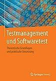 Testmanagement und Softwaretest: Theoretische Grundlagen und praktische Umsetzung