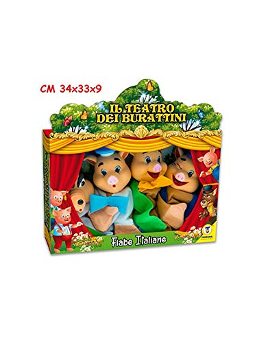 Teorema Il Teatro dei Burattini Marionette Multicolore VD74135