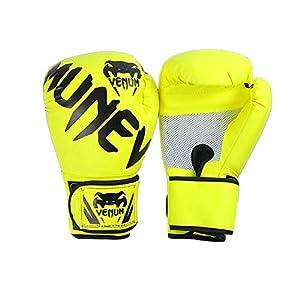 Boxhandschuhe für das Training von Muay Thai | Matte Black ConvEX Skin...