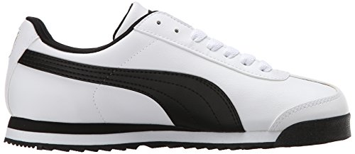 Puma  Roma Basic, Baskets mode pour homme White-teamregalRed multicouleur - White-Black