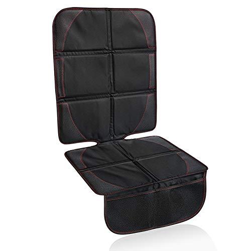 Kindersitzunterlage, HICYCT Autositzauflage Rip-Stop,Premium Kindersitzunterlage, Autositzauflage, Schutzunterlage, Rücksitzschoner, Sitzschoner –Black