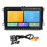 Beimaji Trade Voiture GPS Navigation 9'Compatible Android 8.1 pour VW Volkswagen...