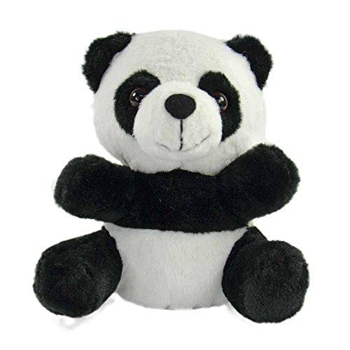 """Kögler 75917 - Laber Panda """"Chen"""", Labertier mit Aufnahme- und Wiedergabefunktion, plappert alles witzig nach und bewegt sich, ca. 17,5 cm groß, ideal als Geschenk für Jungen und Mädchen"""