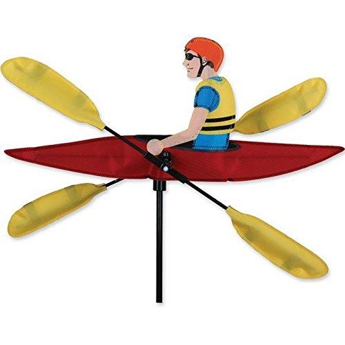 veleta con forma de kayak