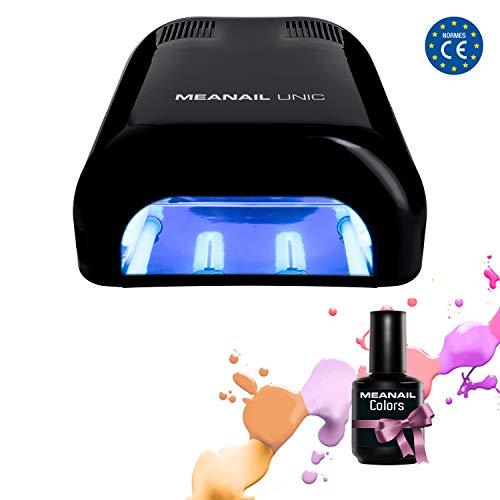Maniküre/ Pediküre UV LAMPE für Nägel  MEANAIL Paris 36 Watt  Nageltrockner für Gel, Acryl und...
