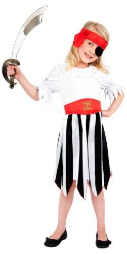 Hit Girl Perücke - Smiffy's - Pirate Girl