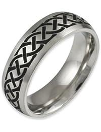 Herr der Ringe Jewelry Unisex-Ring Edelstahl  1023