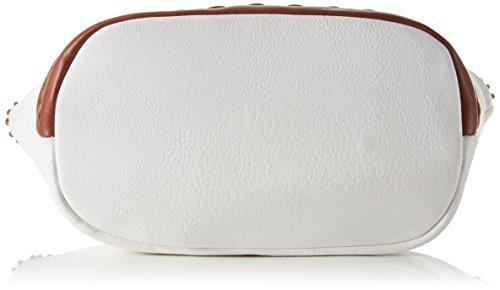 Gabor Damen Napoli Schultertasche, 29x15x40 cm Weiß (Weiß)