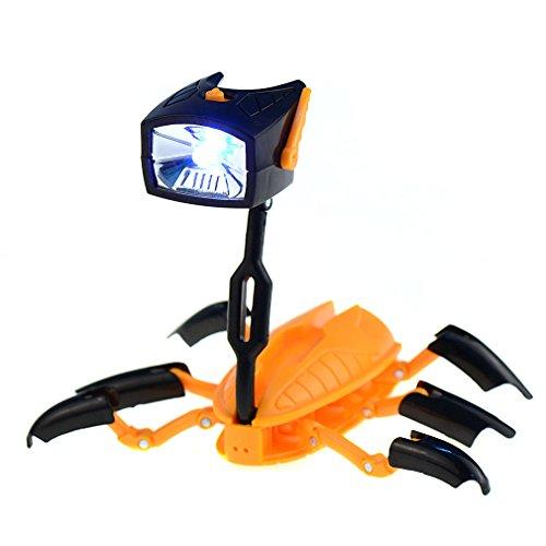 Preisvergleich Produktbild youpin 2LED wandelbare Roboter Spielzeug, Multifunktions Licht Verformung Roboter Form Intelligente Taschenlampe Creative Novelty Cute Lampe Taschenlampe Transformers Nachtlicht Weihnachten Geschenk für Kinder