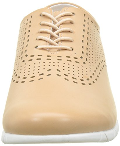 Kickers Damen Becki Brogue Beige (hautfarben)