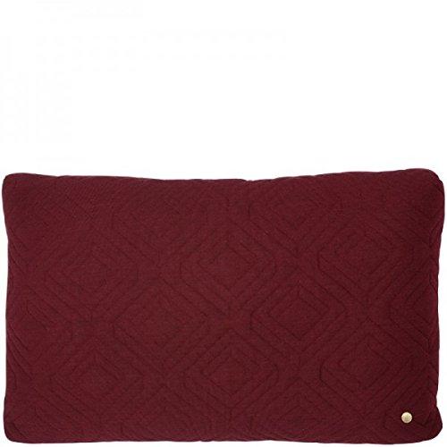 Ferm Living – Quilt Cushion – Kissen – Bordeaux – 60 x 40 - 2