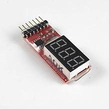 SODIAL (R) 2S-6S 2-6S RC Lipo Batteria Allarme di bassa