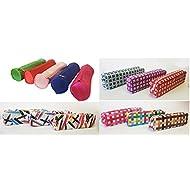 takestop Lot de 2Trousse étuis à crayons portapastelli crayons cosmétiques Sac Bag Fermeture Éclair Fermeture Éclair Couleur aléatoire