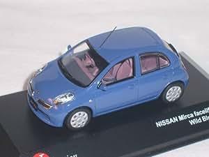 j collection nissan micra k12 bleu 1 43 j collection voiture mod le jeux et jouets. Black Bedroom Furniture Sets. Home Design Ideas