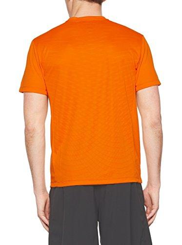 Nike Dri-Fit Cool SS T-shirt à manches courtes pour homme Naranja (Vivid Orange / Black)