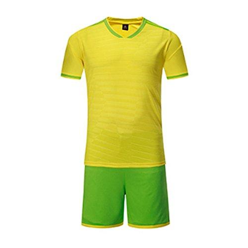 Trikot Kostüm Fußball Frauen - Inlefen Fußball Jersey Sport Kostüme Kleidung Fußball für Männer und Frauen Sommer Anzüge Kleidung Sets Jersey und kurz