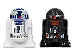 Star Wars Salz- & Pfefferstreuer R2-D2 & R2-Q5 aus Keramik