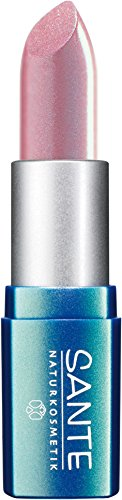 SANTE Naturkosmetik Lipstick No. 01 light pink, Lippenstift, Transparente bis intensive Farben, Zart...