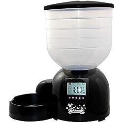 LBAFS Automatische Futterautomat Für Hunde Und Katzen - 11L Smart Pet Food Dispenser Mit Timer, Diktiergerät, Große Hundefuttermaschine