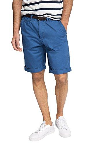 ESPRIT Chino Pantaloni Corti da Uomo, colore Blu (Blue 430), taglia 33