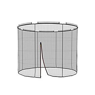 Ampel 24 Replacement Parts for Deluxe Trampoline with Inside Net | Safety Net – Outdoor Edge Cover and Bounce Mat for Garden Trampoline Diameter 72 490 cm, Equivalent Network, 244 cm