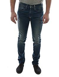 Jeans Japan Rags 702 Skinny Bleu Dirty Homme
