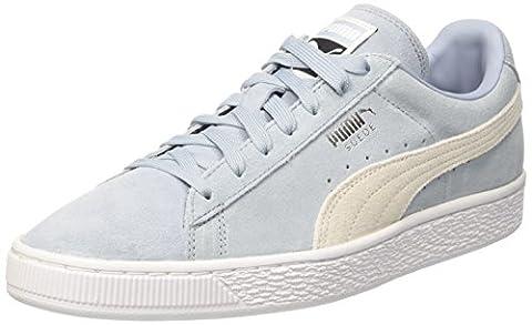 Puma Unisex-Erwachsene Suede Classic + Low-Top, Blau (Blue Fog-Puma White 06), 42 EU