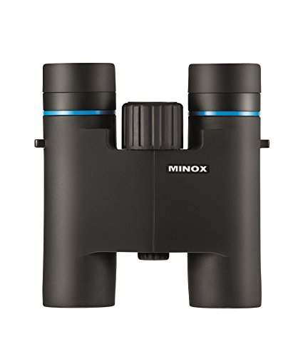MINOX BLU 10x25 Fernglas – Kompakt-Fernglas für die Tagbeobachtung Das in Jede Hosentasche passt...