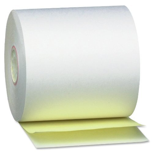 """PM Company Bulk Self Contained Financial Rolls, 2 Ply, 50 Rolls/Carton, 3"""" x 90 Feet (PMC08963) Category: Adding Machine and Calculator Paper Rolls by PM Company"""