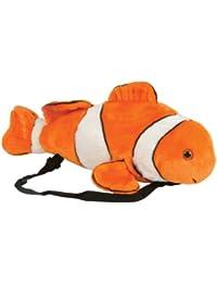 """19"""" Clownfish Plush Stuffed Animal Little Backpack"""
