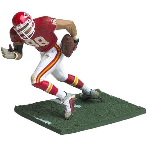 McFarlane Toys NFL Sports Picks Series 5 Action Figure Tony Gonzalez (Kansas City Chiefs) Red (Gonzalez Jersey)