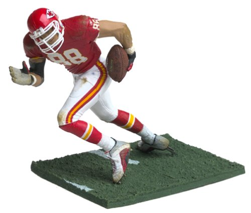 ports Picks Series 5 Action Figure Tony Gonzalez (Kansas City Chiefs) Red Jersey by Unknown ()
