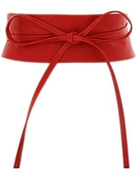 Fashiongen - Obi Gürtel aus echtem Leder Cassiane